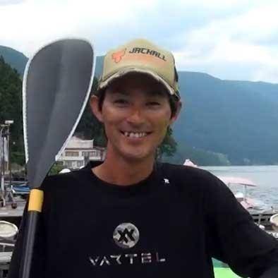 水野浩聡と木崎湖