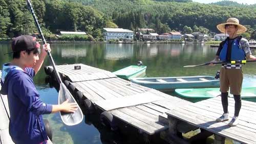 木崎湖モダンボートサップ