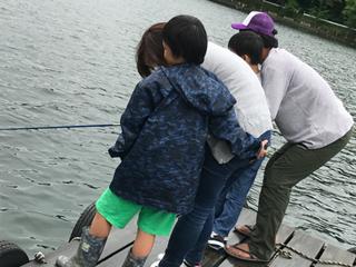 木崎湖モダンボート遊び