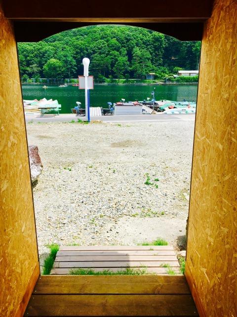 木崎湖モダンボート宿泊