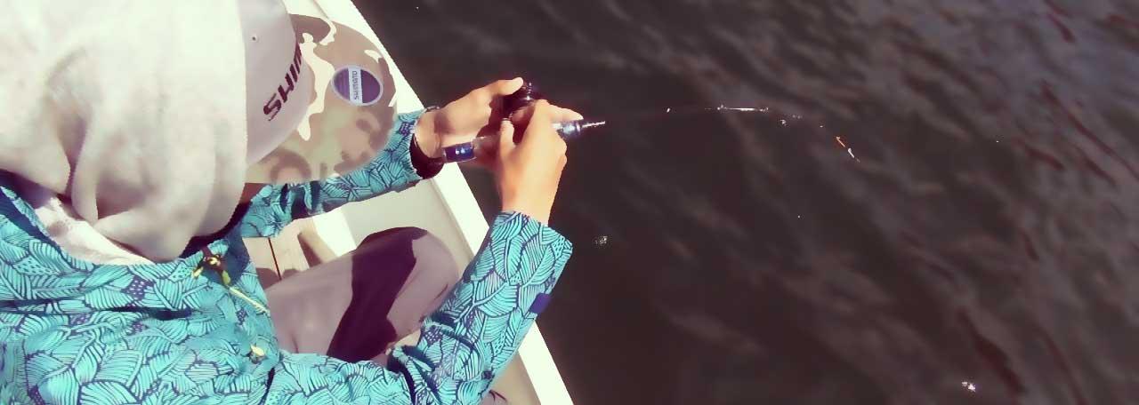 木崎湖モダンボートワカサギ釣り