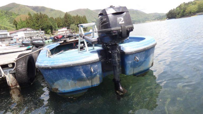 木崎湖モダンボートレンタル