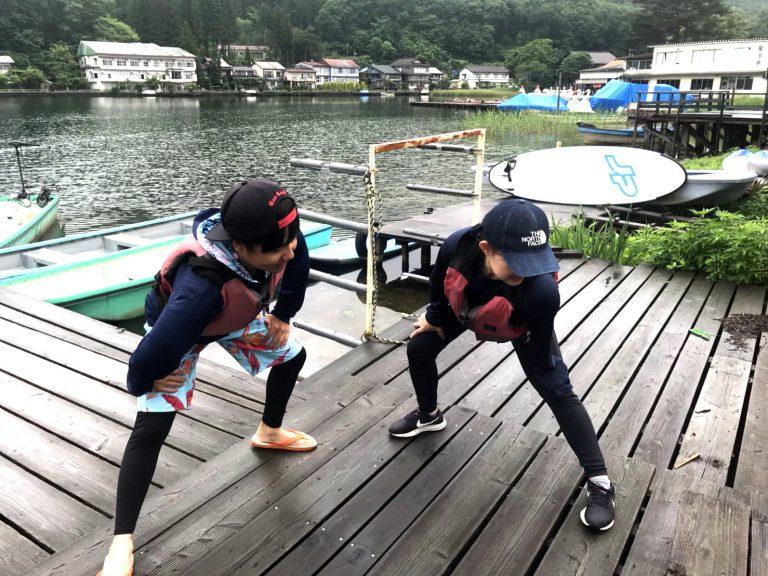 木崎湖モダンボートサップガイド