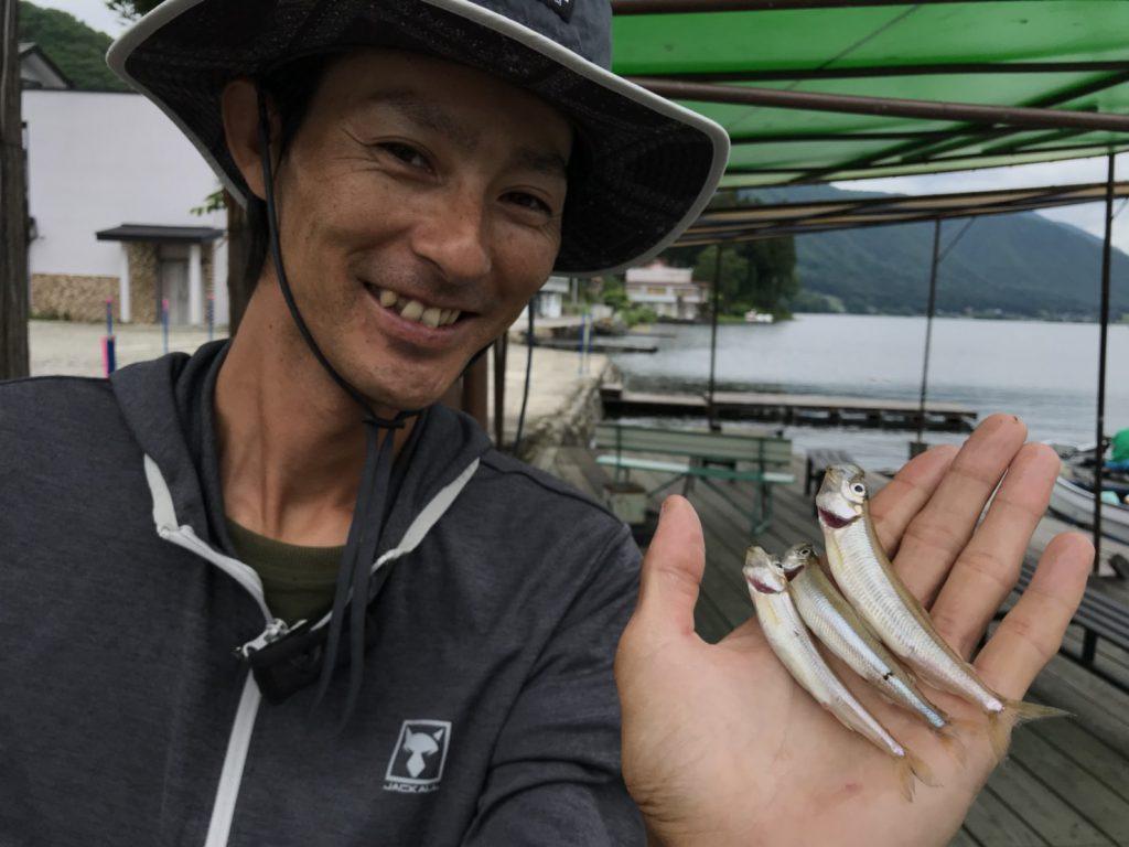 水野浩聡「水の旅」にて木崎湖ワカサギ釣りアップされました!