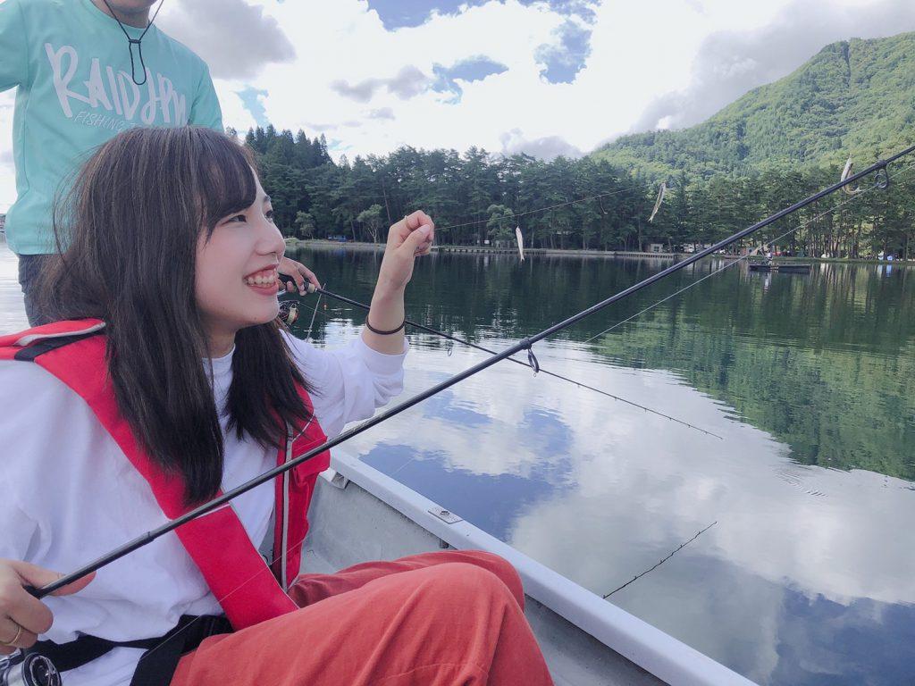 木崎湖モダンボートワカサギ釣果情報 9/15