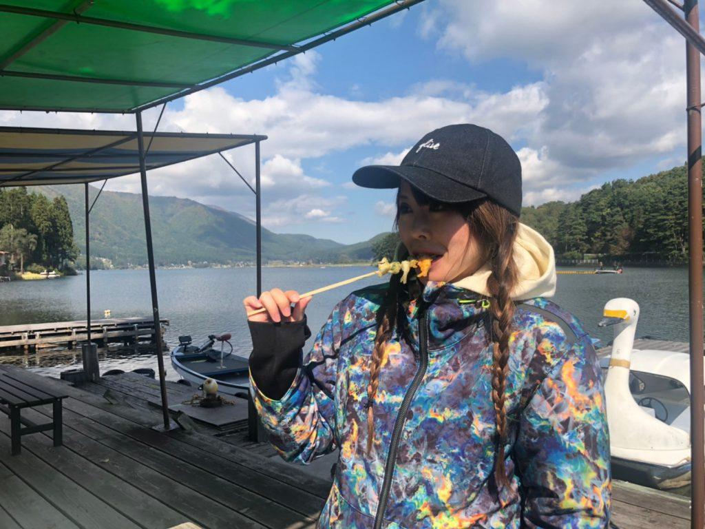 木崎湖モダンリゾートTV「釣ったワカサギをその場で食べる!」アップしました♪