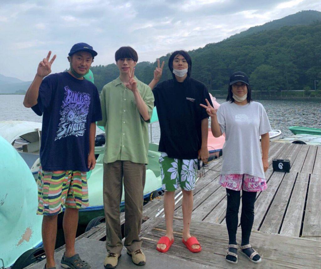 木崎湖でLUCKY TAPESさんのMVロケが行われました!