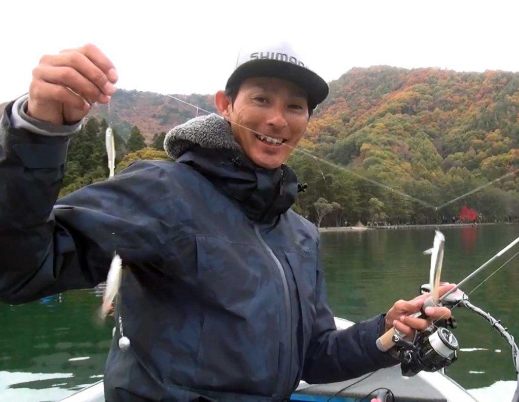 モダンリゾートTV 「晩秋の木崎湖ワカサギ釣り調査 by水野浩聡」アップしました!