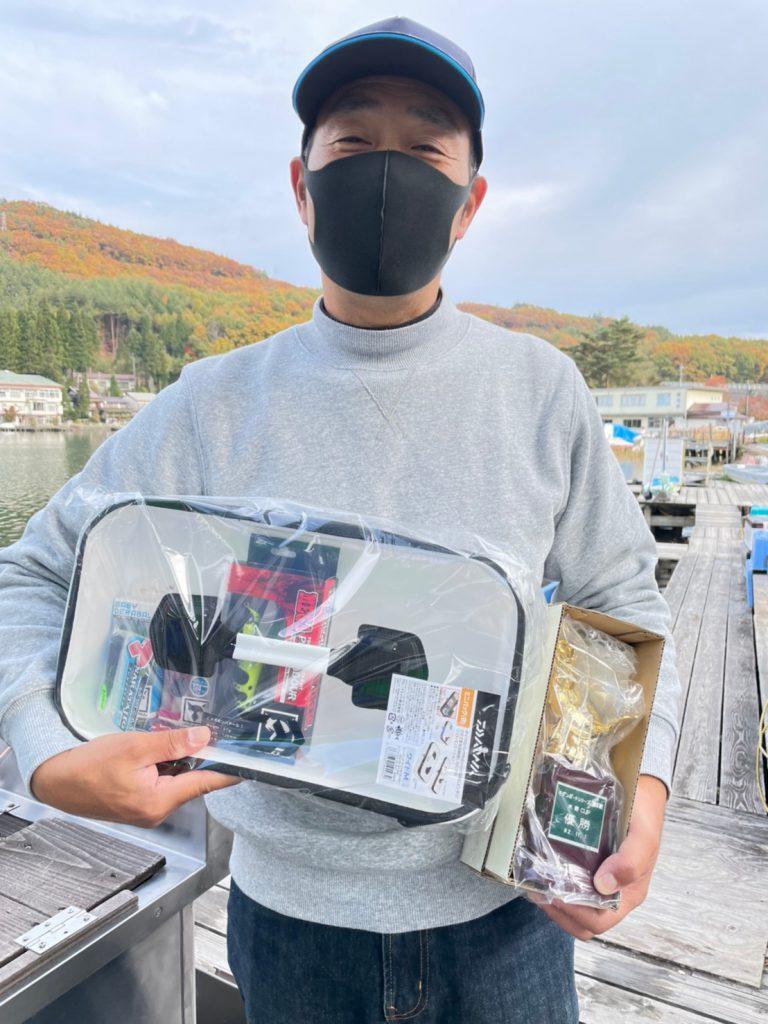 木崎湖モダンボートシリーズ戦JACKALL水野カップ