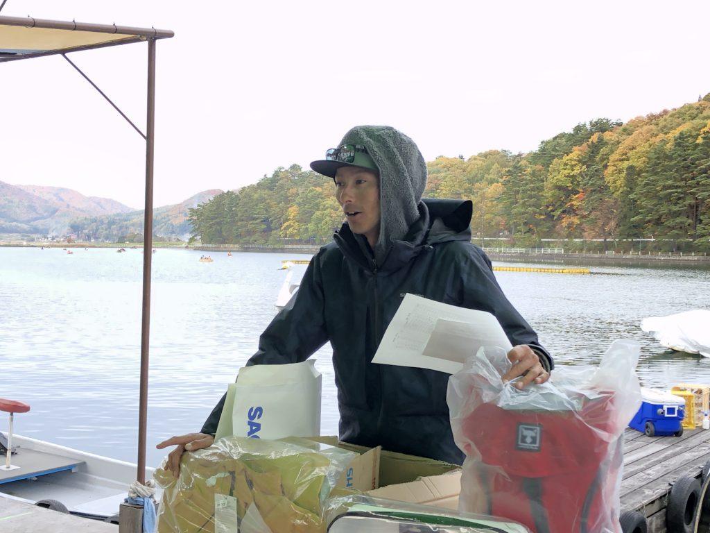木崎湖モダンボートシリーズ戦ジャッカル水野浩聡