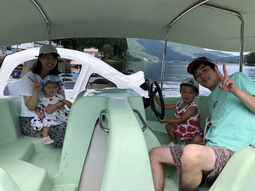木崎湖のペダルボートをお楽しみいただきました! 8/29
