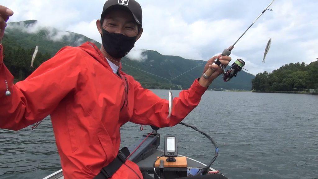 木崎湖ワカサギ釣り「初心者から中級者への道!&8月ワカサギ調査」動画アップしました!