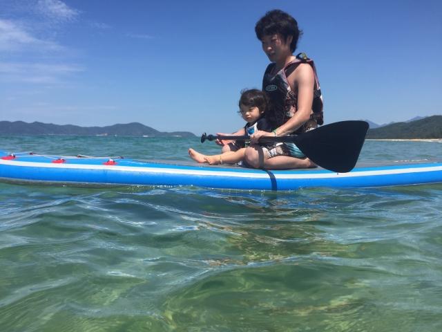 木崎湖モダンボート持ちこみSUP