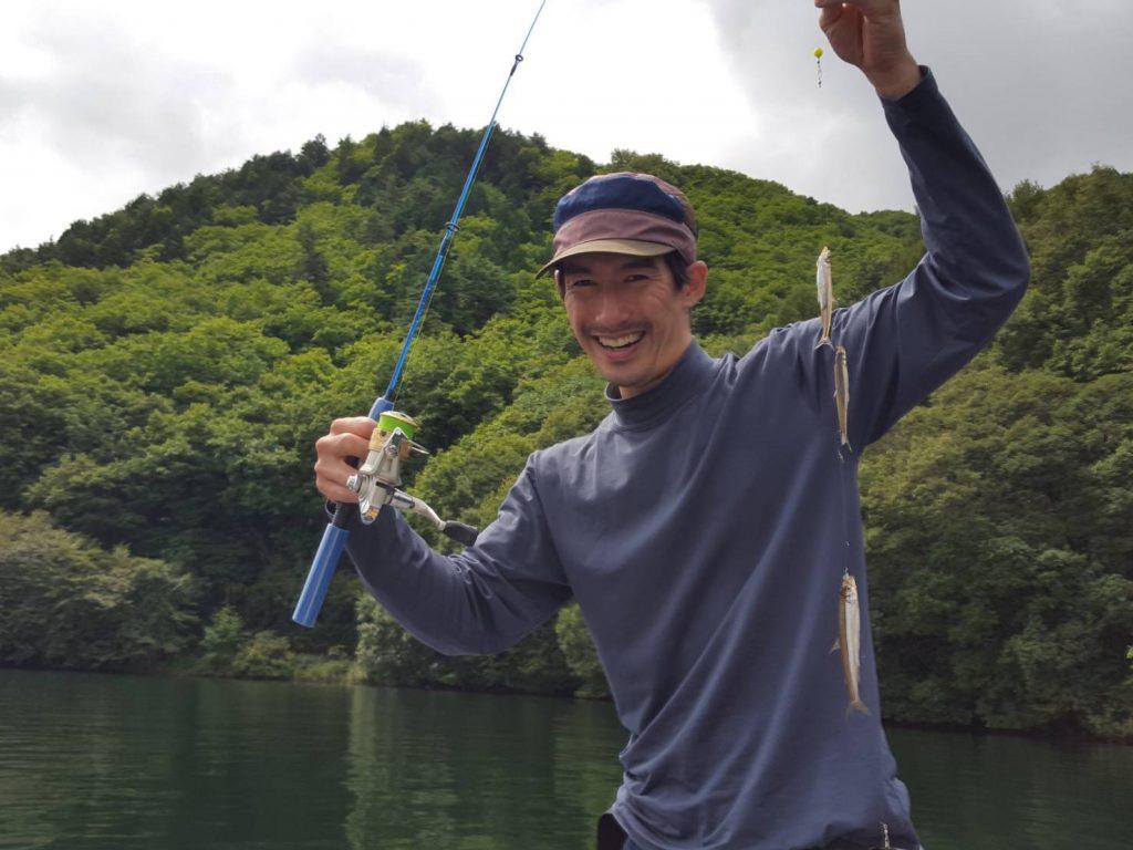 木崎湖ワカサギ釣果情報 9/5