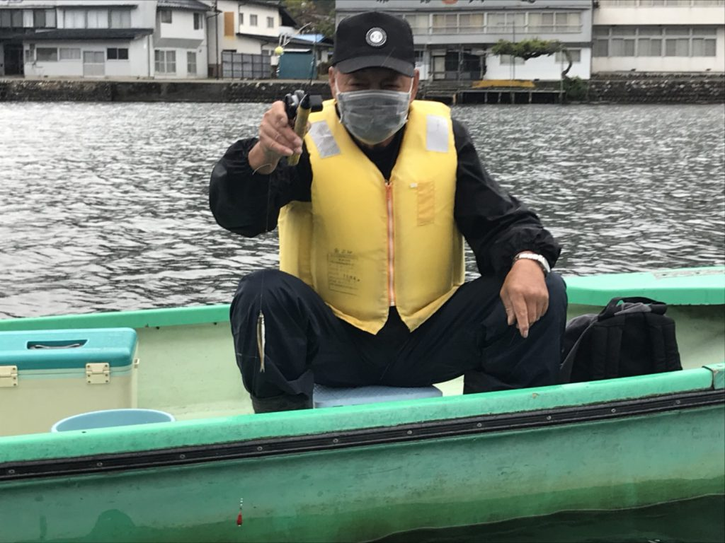 木崎湖ワカサギ釣果情報 10/12