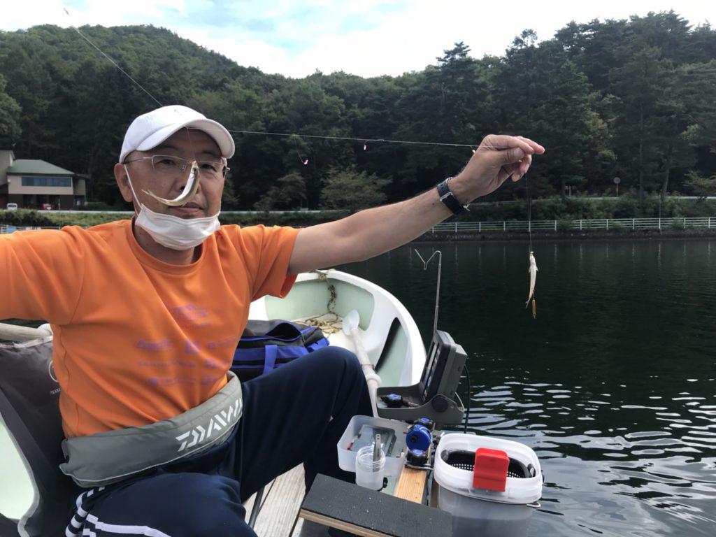 木崎湖ワカサギ釣果情報 9/30